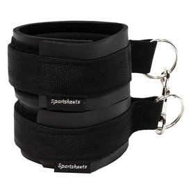 Sportsheets Sports Cuffs Black