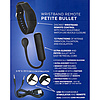 Petite Vibrating Bullet With Wristband Remote