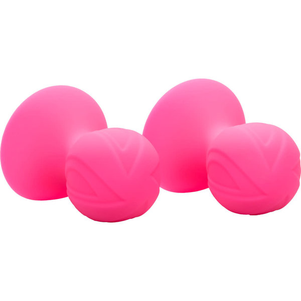 CalExotic Silicone Nipple Suckers - Pink