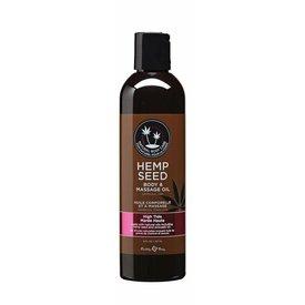 Earthly Body Skinny Dip Hemp Seed Body And Massage Oil - 8 oz.
