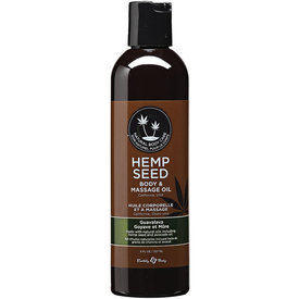 Earthly Body Guavalava Hemp Seed Body And Massage Oil 8 oz.