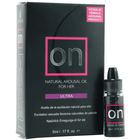 ON for Her ULTRA Arousal Oil 5ml Bottle