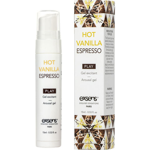 Arousal Gel Vanilla Espresso 15ml