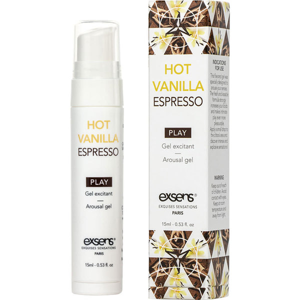 Exsens Arousal Gel Vanilla Espresso 15ml