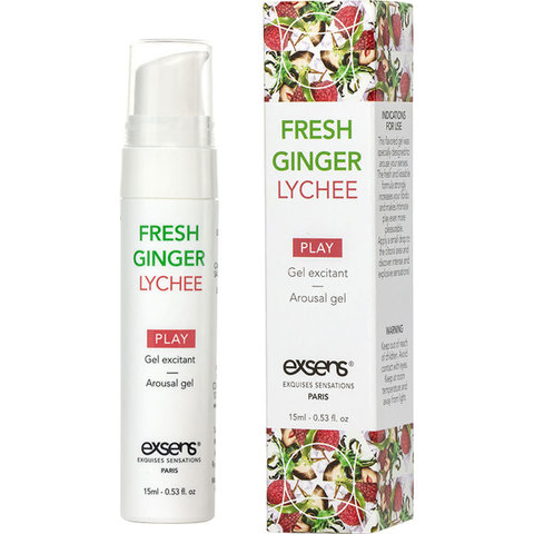 Arousal Gel Ginger Lychee 15ml
