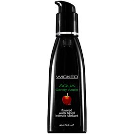 Wicked Sensual Care Wicked Aqua Candy Apple Lubricant 2oz