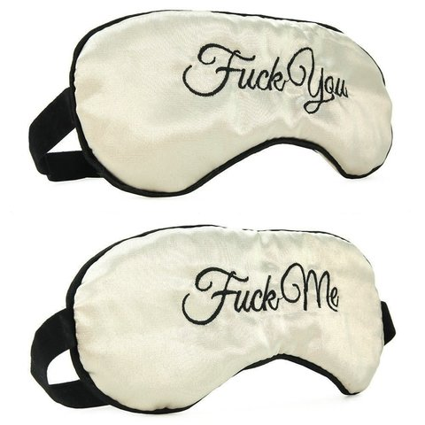 Fuck Me - Fuck You Blindfold