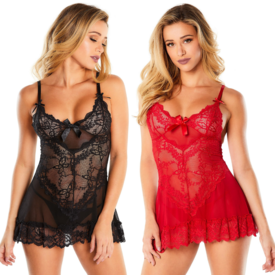 Oh La La Cheri Dark and Sultry Softcup Babydoll