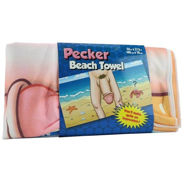 Pecker Beach Towel