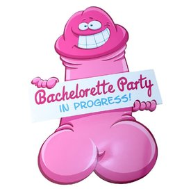 Bachelorette Pecker Wall Decorations