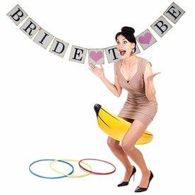 Pipedream Bachelorette Party Favors Inflatable Banana Ring Toss