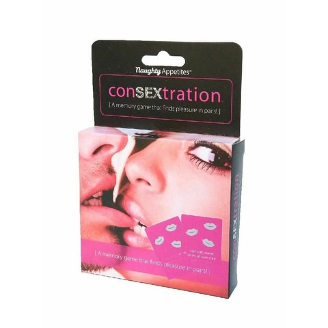 ConSEXtration Card Game A Memory Game That Finds Pleasure in Pairs!
