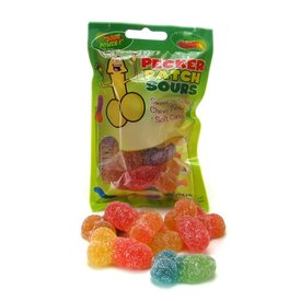 Hott Products Pecker Patch Sour Gummy Candy