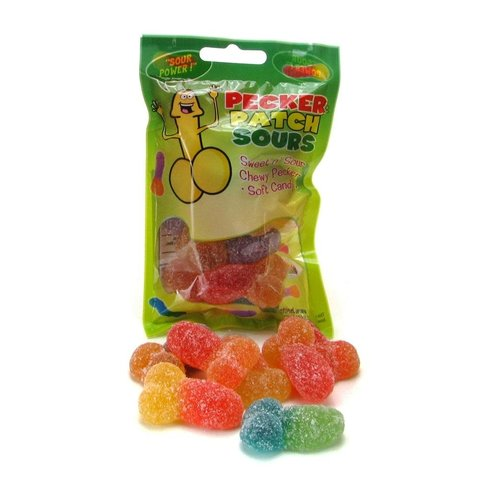 Pecker Patch Sour Gummy Candy