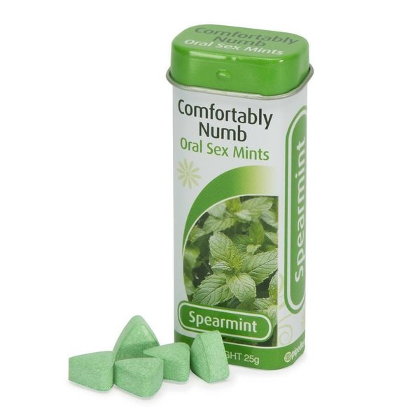 Pipedream Comfortably Numb Mints - Spearmint