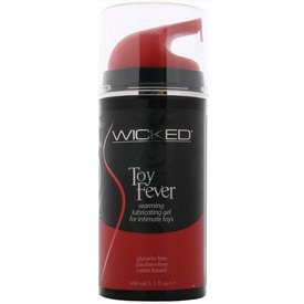 Wicked Sensual Care Toy Love Warming Waterbased Gel - 3.3 oz