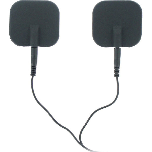 XR Brand Zeus Deluxe Silicone Electro Pads 2pk