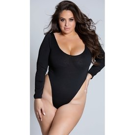 Roma Cozy Long Sleeved Bodysuit - Curvy