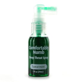 Pipedream Comfortably Numb Deep Throat Spray - Spearmint