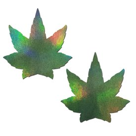 Pastease Green Holographic Weed Pasties