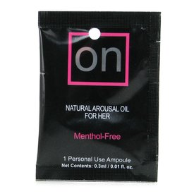 Sensuva On For Her Arousal Oil 3ml Ampoule Packet