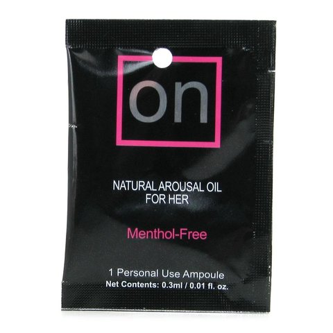 On For Her Arousal Oil 3ml Ampoule Packet
