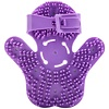 Fuzu Glove Massager - Purple