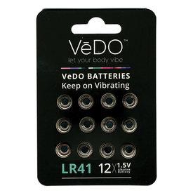 Vedo LR41 Batteries