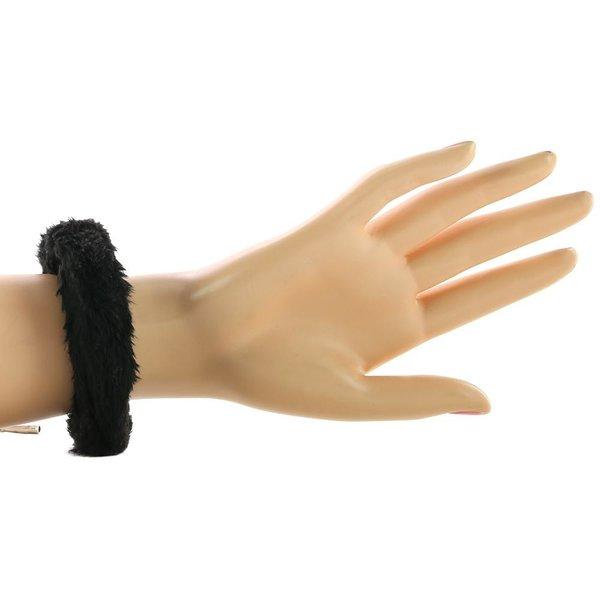 Shots Ouch Furry Pleasure Cuffs