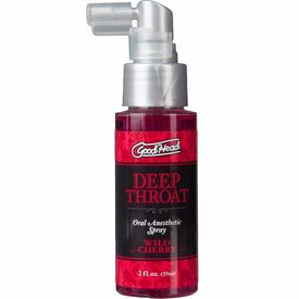 Doc Johnson Goodhead Throat Spray Wild Cherry