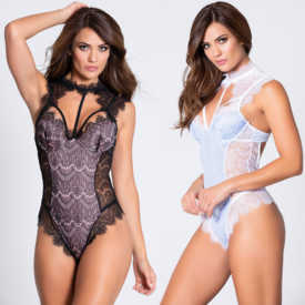Dreamgirl Sexy Lace Harness Teddy