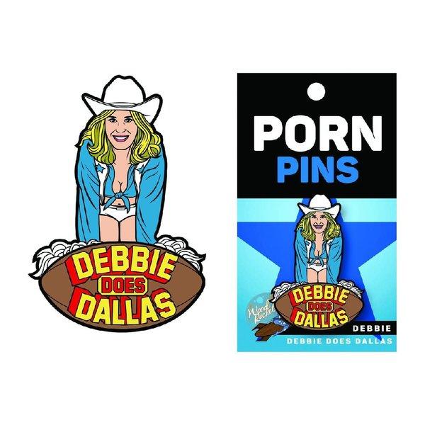 Wood Rocket LLC Debbie Does Dallas Pin