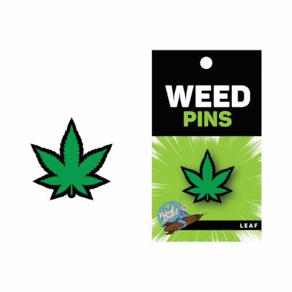 Wood Rocket LLC Marijuana Green Pin