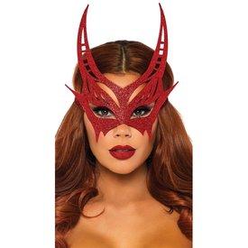 Leg Avenue Glitter Devil Mask
