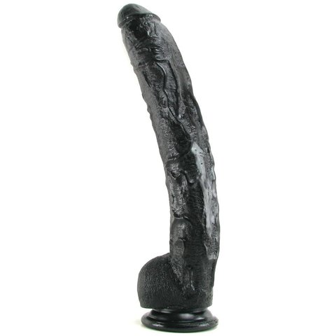 Dick Rambone Cock - 17 Inch - Black