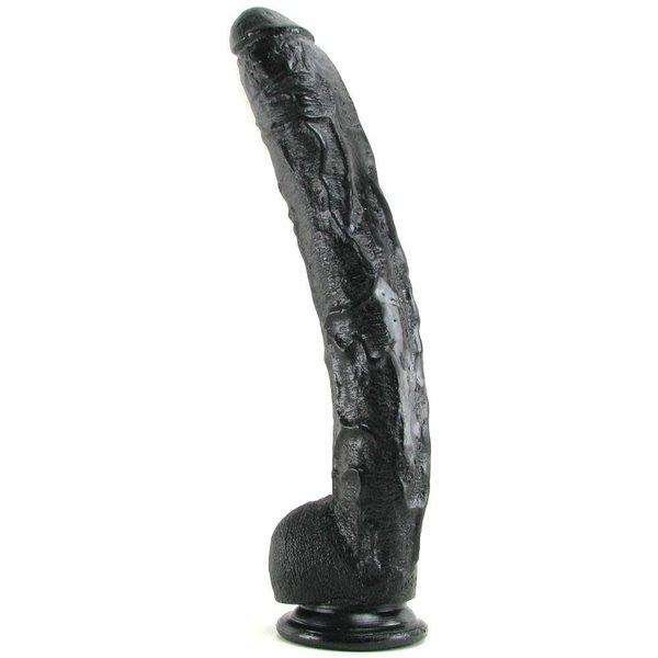 Doc Johnson Dick Rambone Cock - 17 Inch - Black