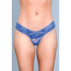 Be Wicked Cut Lace Thong