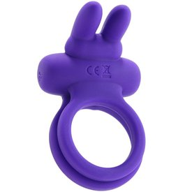 CalExotic Silicone Rechargeable Dual Rockin' Rabbit