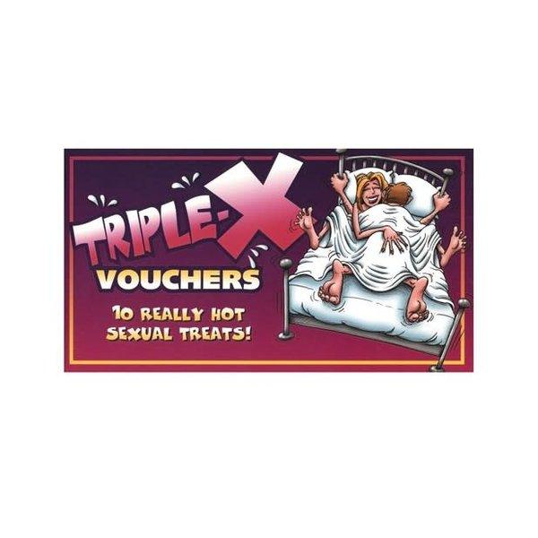 Ozze Creations Triple-X Vouchers