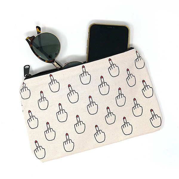 Unblushing Purse Pouch - The Finger