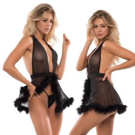 Allure Skye Candy Sweet Babydoll Set