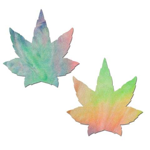 Pastel Tie-Dye Rainbow Weed Pasties