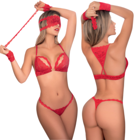 Mapale Secret Desires Four Piece Bra Set