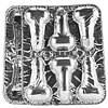 Bachelorette Party Favors Disposable Pecker Cup Cake Pans - Pack of 2
