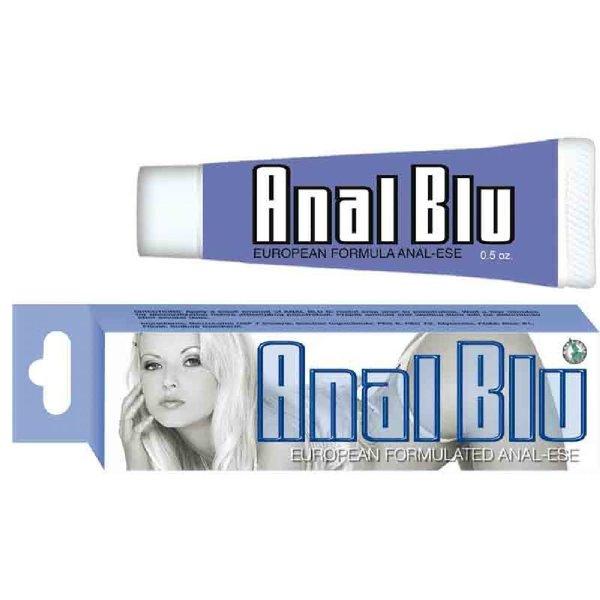 Nasstoys Anal Blu Desensitizing Lubricant - .5 Oz