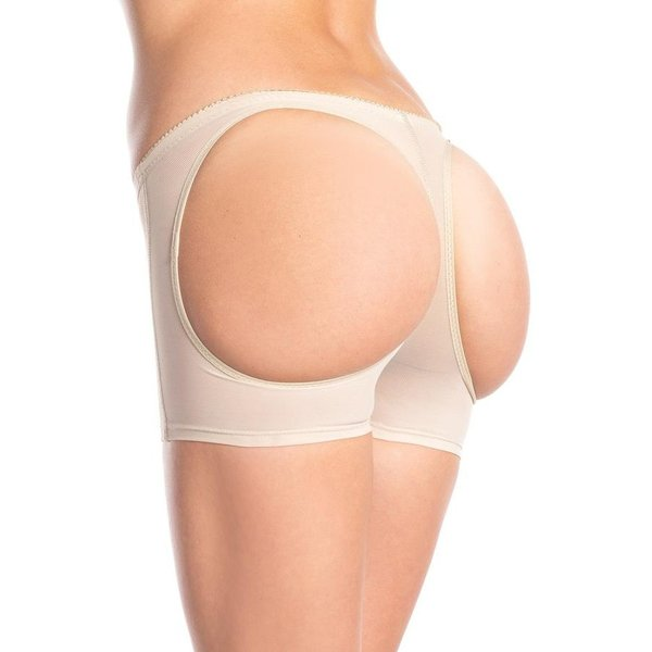 Be Wicked Butt Booster Boyshort - Nude