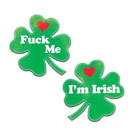 "Pastease ""Fuck Me, I'm Irish"" Pasties"
