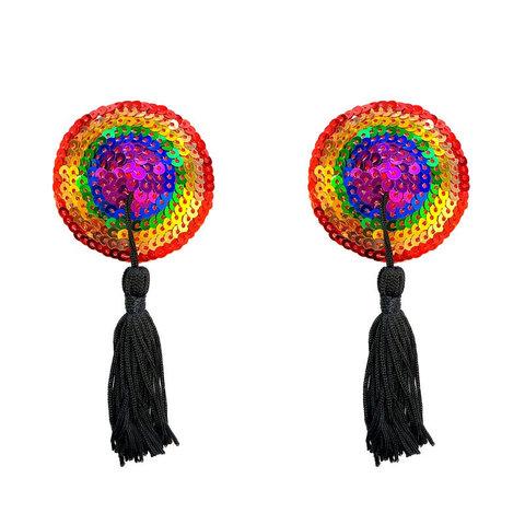 Rainbow Tasseled Pasties
