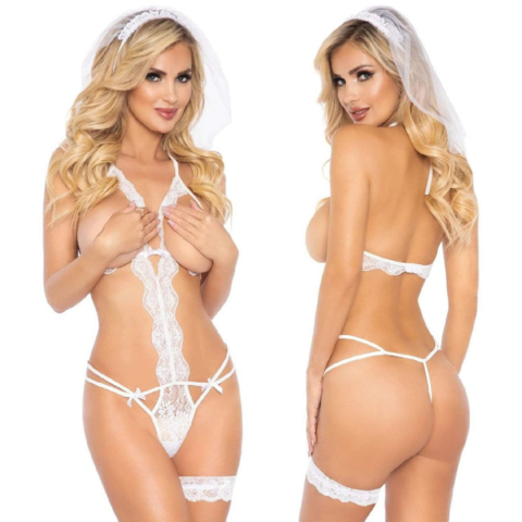 Blushing Bride Three Piece Set