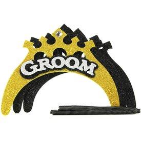 Little Genie Groom-to-Be Celebration Crown Set